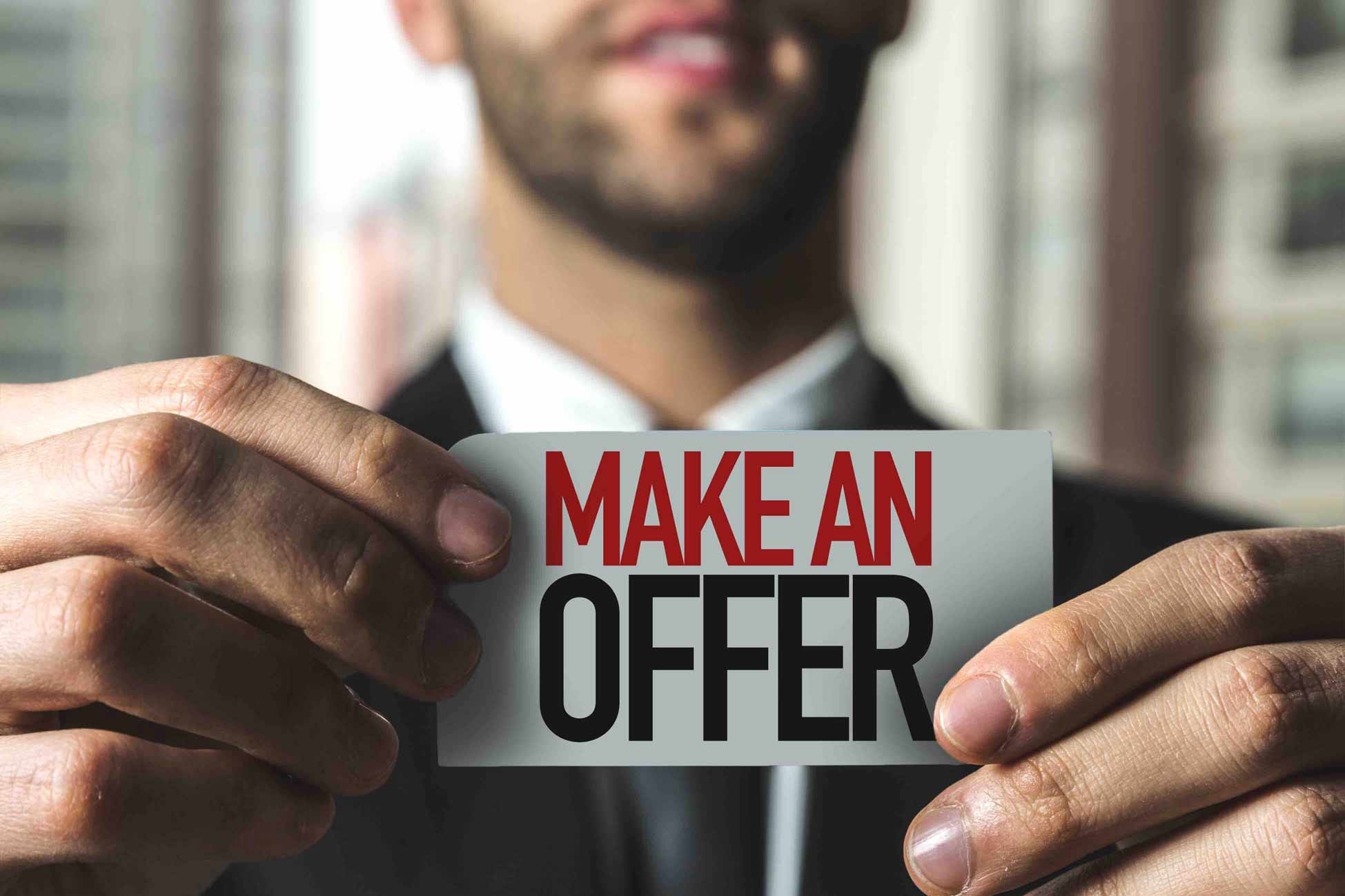 How Much Should I Offer? Making An Offer Isn't Rocket Science