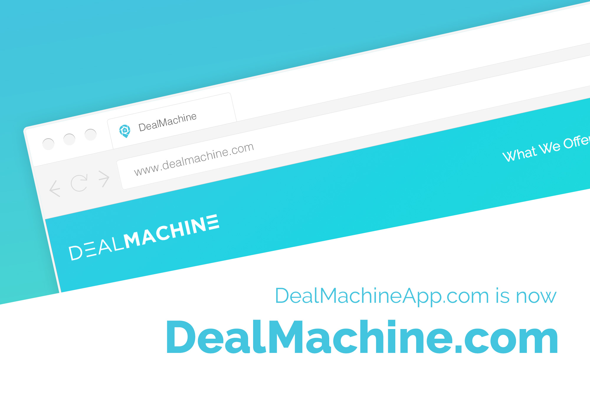 Introducing DealMachine.com (formerly DealMachineApp.com)