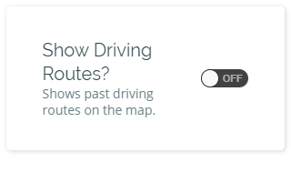 driving routes